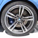 2014 BMW M3 at 2014 NAIAS wheel 2