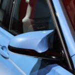 2014 BMW M3 at 2014 NAIAS wing mirror