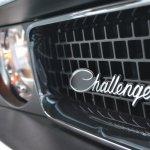 2014 Dodge Challenger Mopar Challenger logo at NAIAS 2014