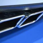 2014 Dodge Challenger Mopar exhaust] at NAIAS 2014