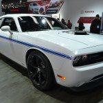 2014 Dodge Challenger Mopar front three quarter at NAIAS 2014