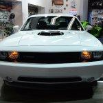 2014 Dodge Challenger Mopar nose at NAIAS 2014