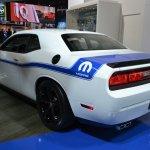 2014 Dodge Challenger Mopar rear three quarter left at NAIAS 2014