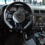 2014 Dodge Challenger Mopar steering at NAIAS 2014