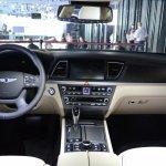 2014 Hyundai Genesis at 2014 NAIAS cabin