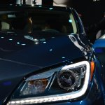 2014 Hyundai Genesis at 2014 NAIAS headlight LED