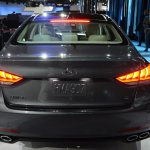 2014 Hyundai Genesis at 2014 NAIAS rear 2
