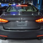 2014 Hyundai Genesis at 2014 NAIAS rear 3