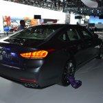 2014 Hyundai Genesis at 2014 NAIAS rear right quarter