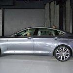 2014 Hyundai Genesis at 2014 NAIAS side