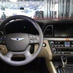 2014 Hyundai Genesis at 2014 NAIAS steering