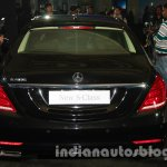 2014 Mercedes Benz S Class launch images black rear
