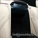 2014 Mercedes Benz S Class launch images chilled compartment
