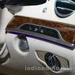 2014 Mercedes Benz S Class launch images controls and stalks