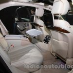 2014 Mercedes Benz S Class launch images interior rear legroom