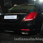2014 Mercedes Benz S Class launch images rear 2