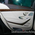 2014 Mercedes Benz S Class launch images rear door