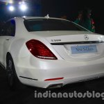 2014 Mercedes Benz S Class launch images rear quarter