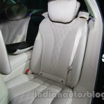 2014 Mercedes Benz S Class launch images rear seat image