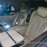 2014 Mercedes Benz S Class launch images rear seat