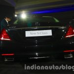 2014 Mercedes Benz S Class launch images rear view