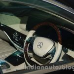 2014 Mercedes Benz S Class launch images steering