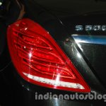 2014 Mercedes Benz S Class launch images taillight