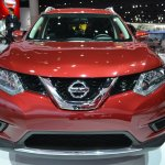 2014 Nissan Rogue front at NAIAS 2014