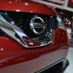 2014 Nissan Rogue grille at NAIAS 2014
