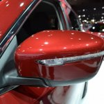 2014 Nissan Rogue side mirror at NAIAS 2014