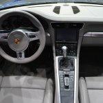 2014 Porsche 911 Targa at 2014 NAIAS dash