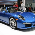 2014 Porsche 911 Targa at 2014 NAIAS front three quarter