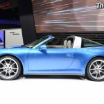 2014 Porsche 911 Targa at 2014 NAIAS side