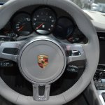 2014 Porsche 911 Targa at 2014 NAIAS steering wheel
