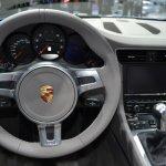 2014 Porsche 911 Targa at 2014 NAIAS steering