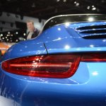 2014 Porsche 911 Targa at 2014 NAIAS taillight