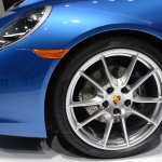 2014 Porsche 911 Targa at 2014 NAIAS wheel