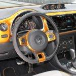 2014 VW Beetle Dune Concept at 2014 NAIAS dash
