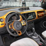 2014 VW Beetle Dune Concept at 2014 NAIAS interior