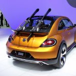 2014 VW Beetle Dune Concept at 2014 NAIAS rear quarter 2