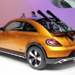 2014 VW Beetle Dune Concept at 2014 NAIAS rear quarter