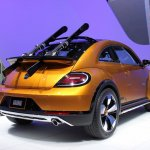2014 VW Beetle Dune Concept at 2014 NAIAS skis