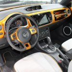 2014 VW Beetle Dune Concept at 2014 NAIAS steering