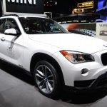 2015 BMW X1 at 2014 NAIAS front three quarter
