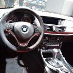 2015 BMW X1 at 2014 NAIAS steering