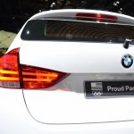 2015 BMW X1 at 2014 NAIAS taillight