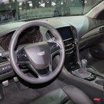 2015 Cadillac ATS Coupe cockpit at NAIAS 2014