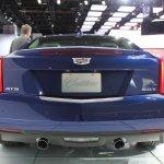 2015 Cadillac ATS Coupe exhaust at NAIAS 2014