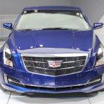 2015 Cadillac ATS Coupe front at NAIAS 2014