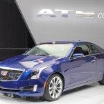 2015 Cadillac ATS Coupe front three quarter at NAIAS 2014